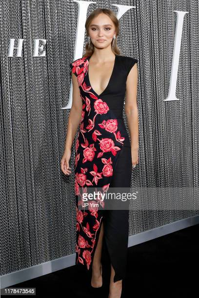 """Lily-Rose Depp attends the NY Special Screening of Netflix's """"The King"""" at School of Visual Arts on October 01, 2019 in New York City."""