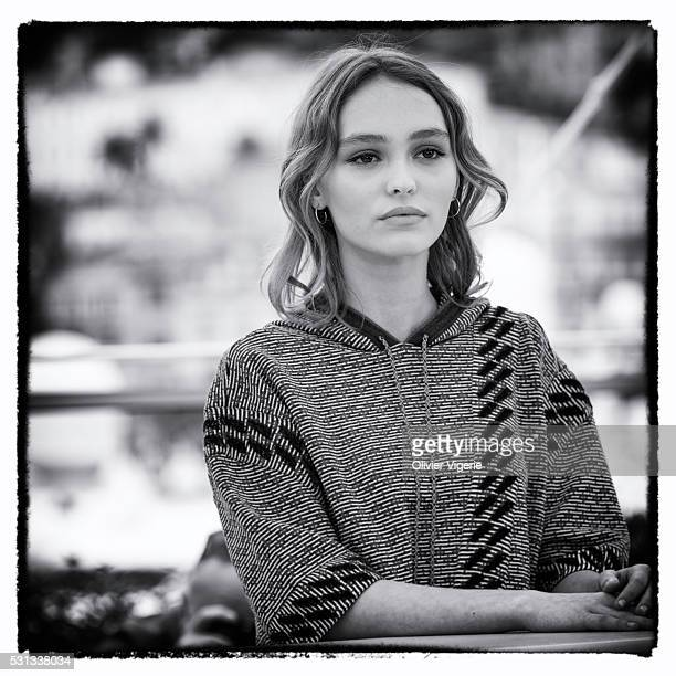LilyRose Depp attends the 'The Dancer ' photocall during the 69th annual Cannes Film Festival at the Palais des Festivals on May 13 2016 in Cannes...
