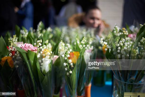 Lilys of the valley on sale Several thousands people took part in the traditional May Day rally in Toulouse A lot of demonstrators are united against...