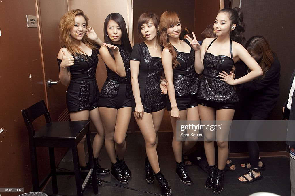 Lim, Yubin, Sun, Yenny and Sohee of Wonder Girls pose for a portrait at iHeartRadio Presents Wonder Girls at iHeartRadio Performance Theater on September 5, 2012 in New York City.