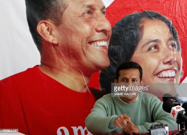 El ex candidato Ollanta Humala que disputo la presidencia de Peru con el socialdemocrata Alan Garcia y es el principal lider opositor en Peru habla...
