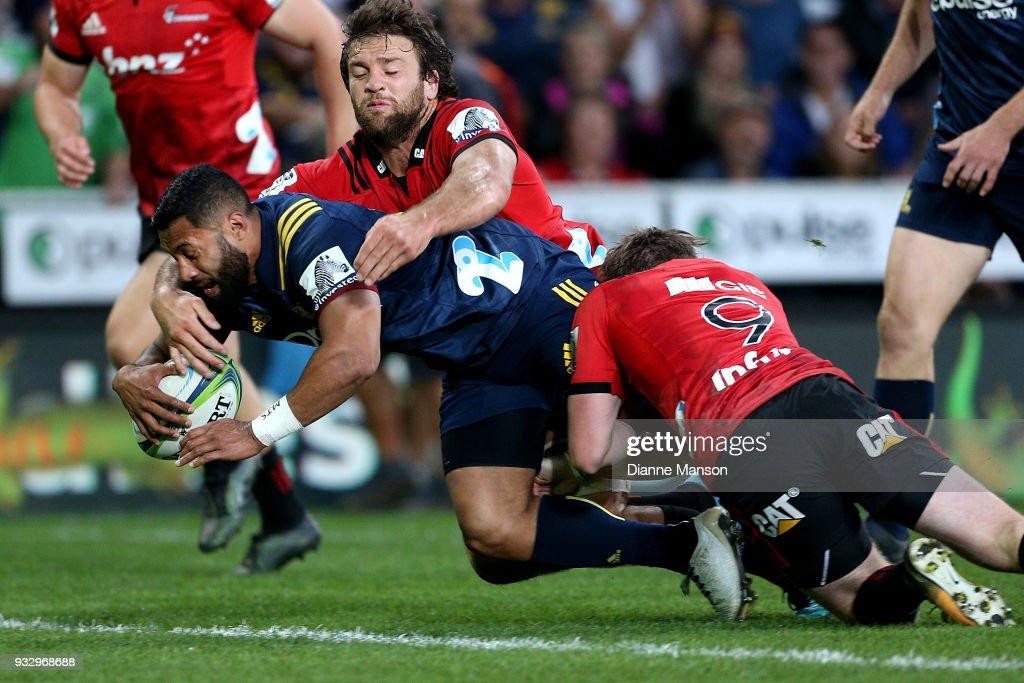 Super Rugby Rd 5 - Highlanders v Crusaders