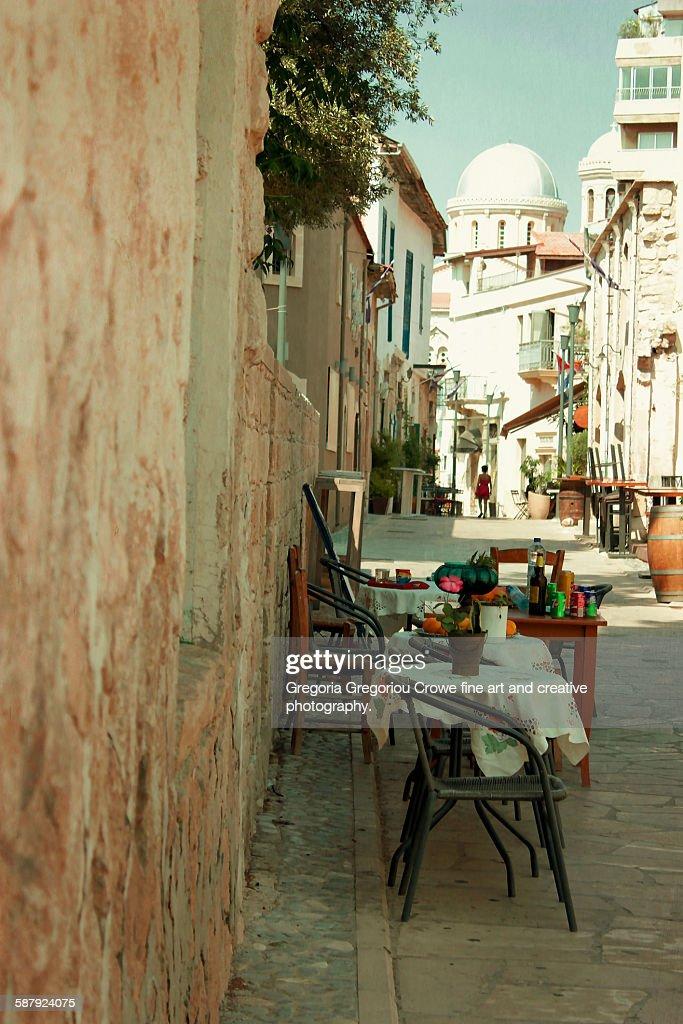 Limassol Old Town : Stock Photo