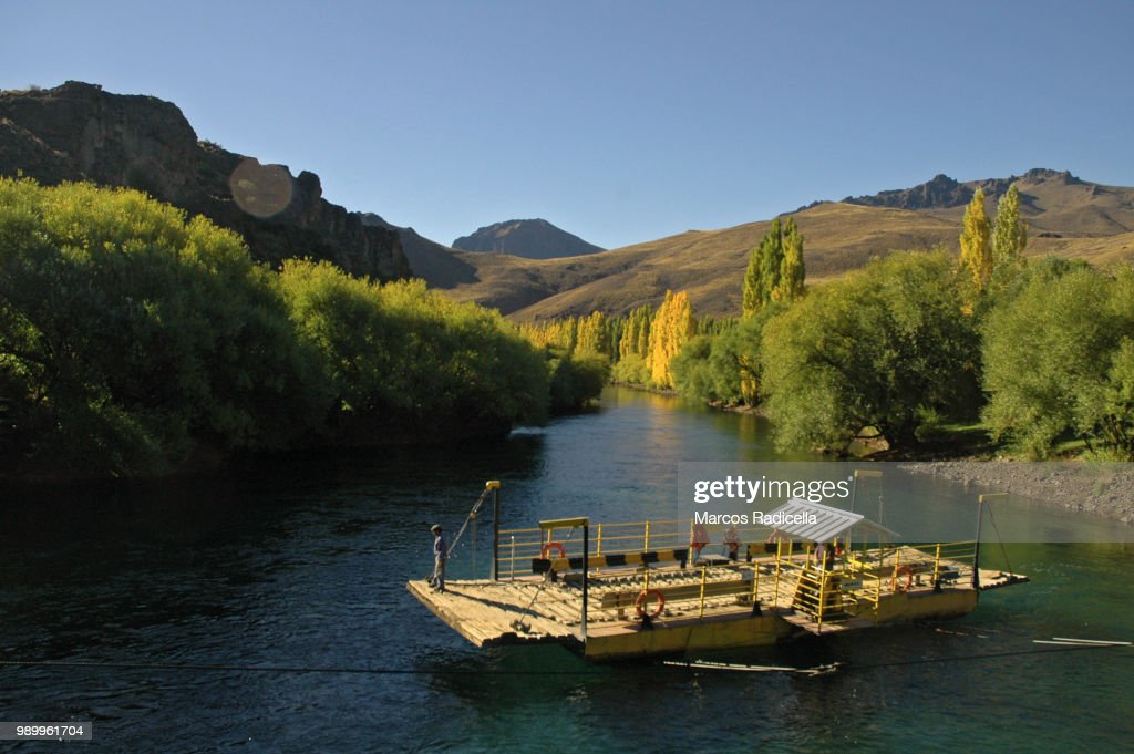Limay river, Patagonia Argentina : Stock Photo