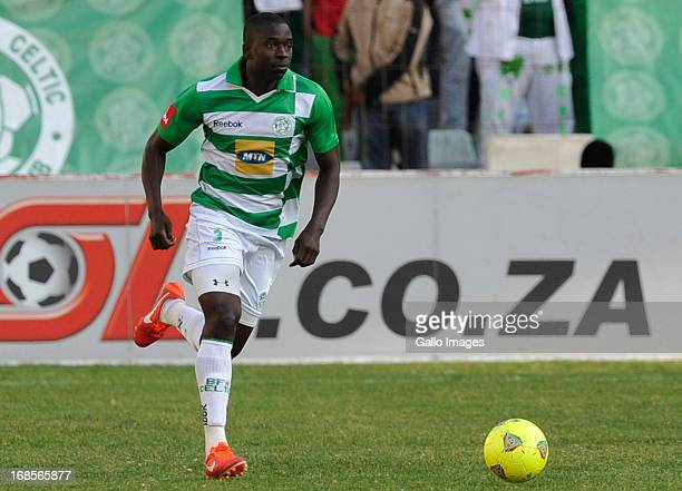 Limbikani Mzava for Celtics during the Absa Premiership match between Bloemfontein Celtic and Free State Stars at Free State Stadium on May 11 2013...
