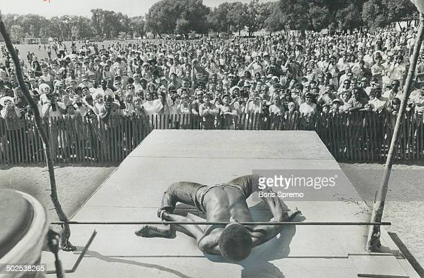 Limbo Dancer thrilled thousands of Toronto citizens during Caribana '67 on the Island But West Indians don't always get applause heresome have been...