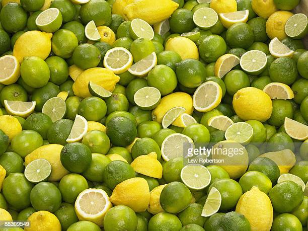 Lime and Lemon Background