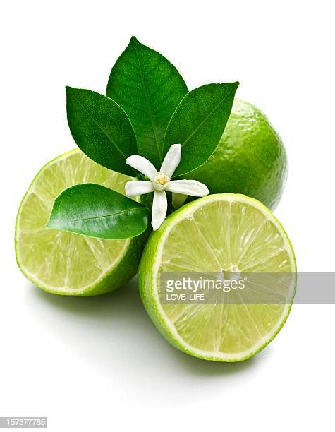 Lime, leaf and blossom