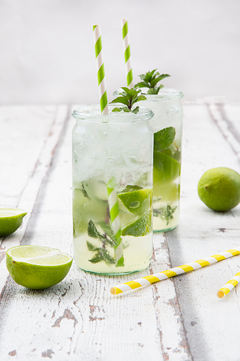 Lime mint ginger lemonade - gettyimageskorea
