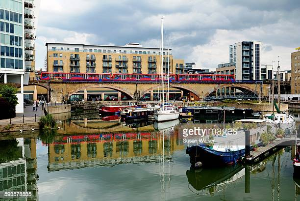 Limehouse Basin and the DLR