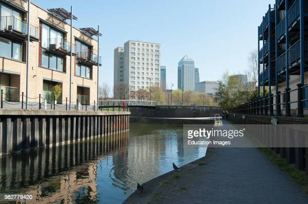 Limehouse Basin, London.