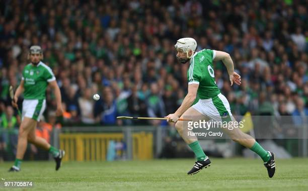 Limerick Ireland 10 June 2018 Cian Lynch of Limerick during the Munster GAA Hurling Senior Championship Round 4 match between Limerick and Waterford...
