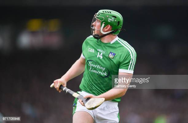 Limerick Ireland 10 June 2018 Shane Dowling of Limerick during the Munster GAA Hurling Senior Championship Round 4 match between Limerick and...