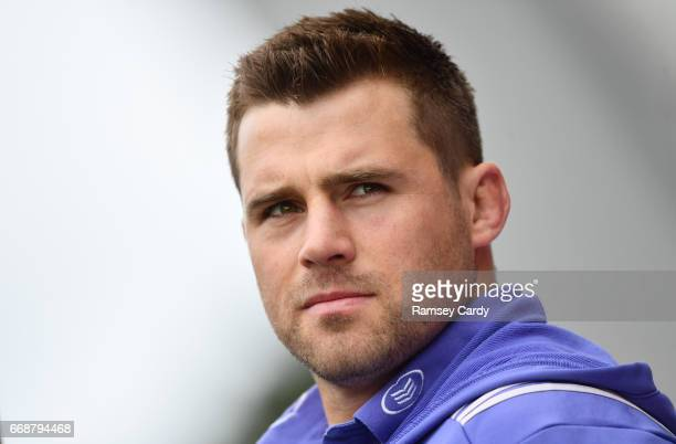 Limerick Ireland 15 April 2017 Munster's CJ Stander in attendance during the Guinness PRO12 match between Munster and Ulster at Thomond Park in...