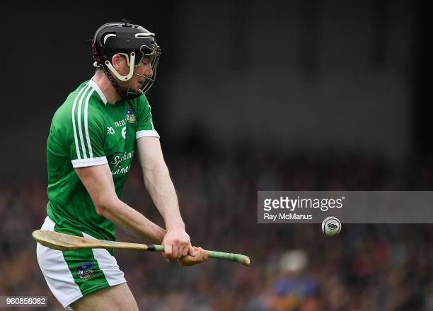 Limerick Ireland 20 May 2018 Declan Hannon of Limerick during the Munster GAA Hurling Senior Championship Round 1 match between Limerick and...
