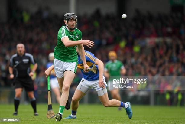 Limerick Ireland 20 May 2018 Diarmaid Byrnes of Limerick during the Munster GAA Hurling Senior Championship Round 1 match between Limerick and...
