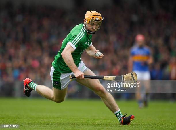 Limerick Ireland 20 May 2018 Richie English of Limerick during the Munster GAA Hurling Senior Championship Round 1 match between Limerick and...
