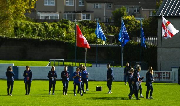 IRL: Switzerland v Northern Ireland - UEFA Women's U19 Championship Qualifier