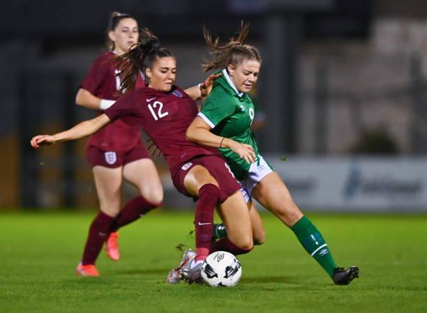 IRL: Republic of Ireland v England - UEFA Women's U19 Championship Qualifier
