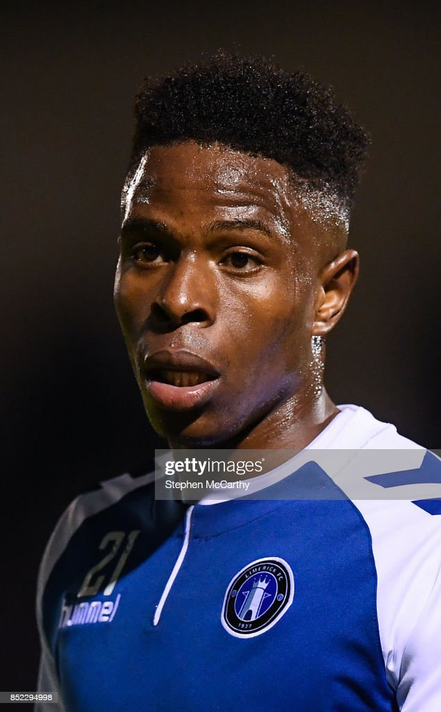 Limerick , Ireland - 22 September 2017; Chiedozie Ogbene of Limerick during the SSE Airtricity League Premier Division match between Limerick FC and Cork City at Markets Fields in Limerick.