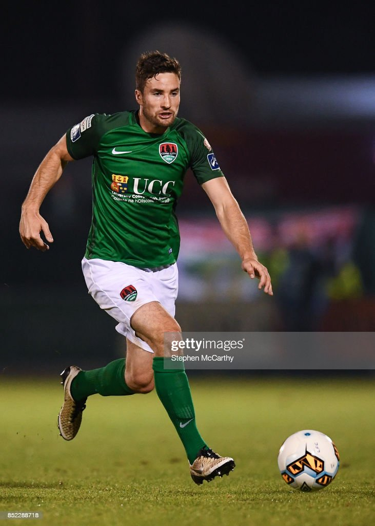 Limerick , Ireland - 22 September 2017; Gearóid Morrissey of Cork City during the SSE Airtricity League Premier Division match between Limerick FC and Cork City at Markets Fields in Limerick.