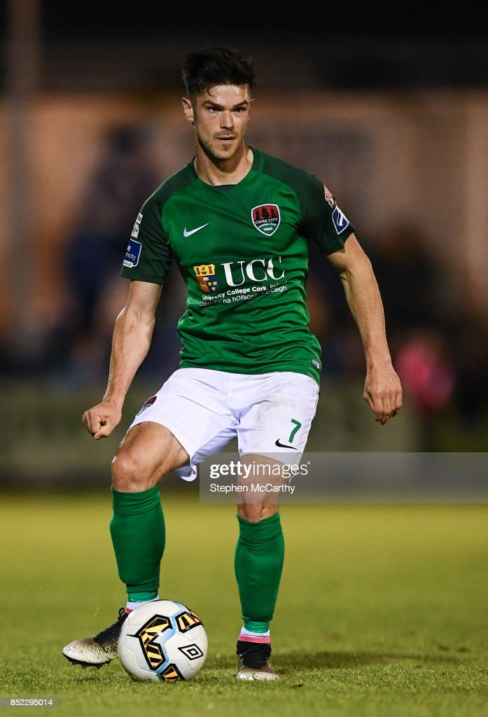 Limerick , Ireland - 22 September 2017; Jimmy Keohane of Cork City during the SSE Airtricity League Premier Division match between Limerick FC and Cork City at Markets Fields in Limerick.