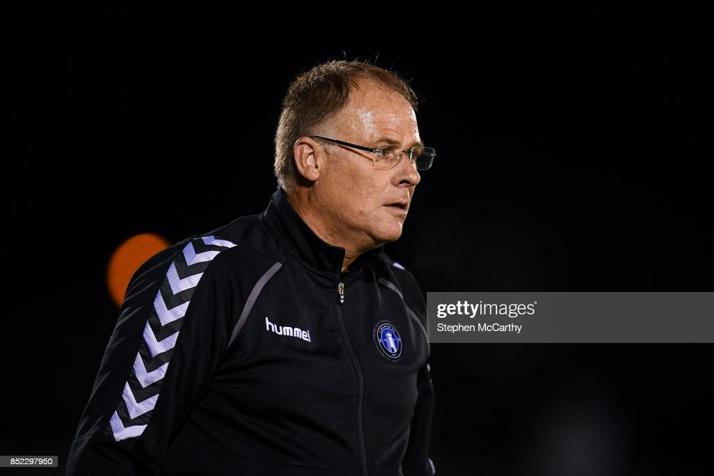 Limerick , Ireland - 22 September 2017; Limerick manager Neil McDonald during the SSE Airtricity League Premier Division match between Limerick FC and Cork City at Markets Fields in Limerick.