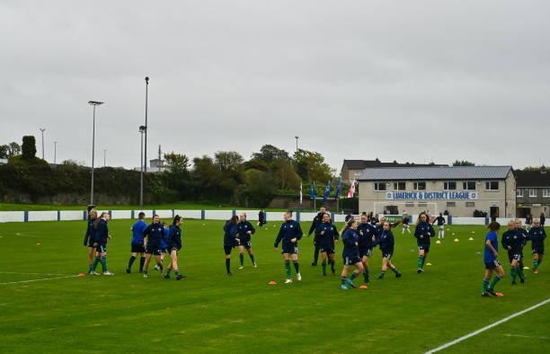 IRL: England v Northern Ireland - UEFA Women's U19 Championship Qualifier