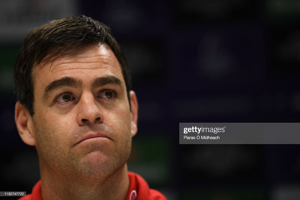 IRL: Munster Rugby Press Conference and Squad Training