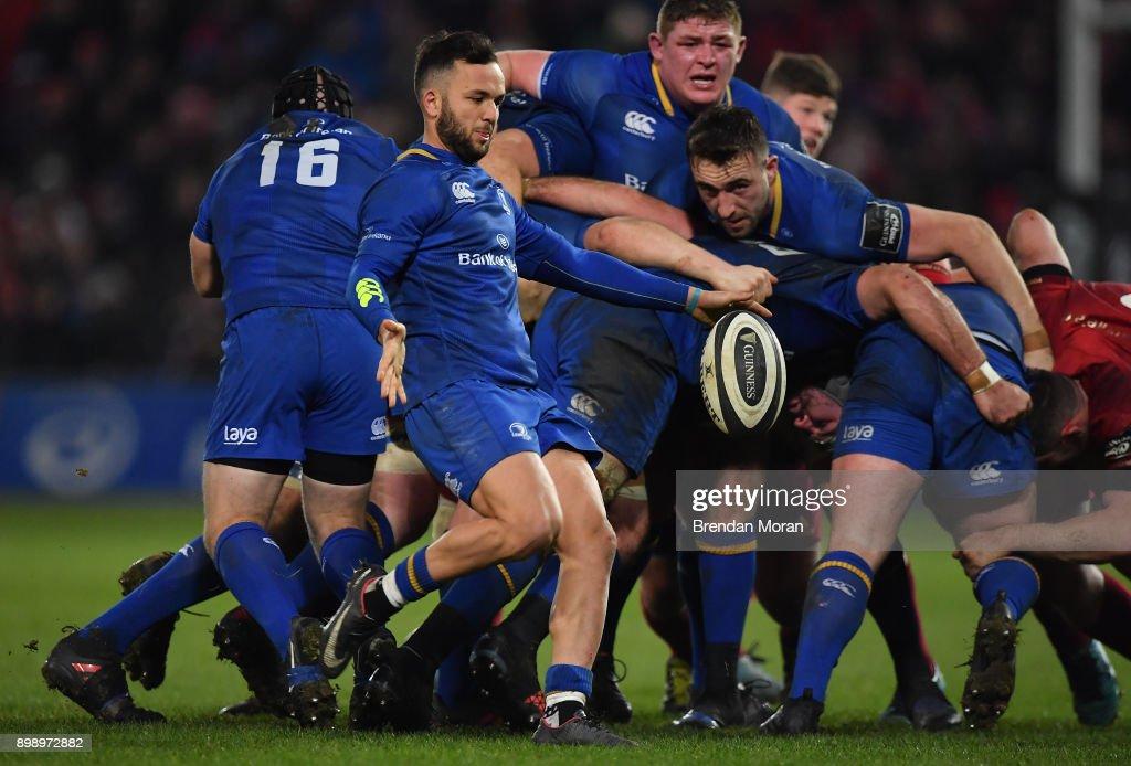 Munster v Leinster - Guinness PRO14 Round 11 : News Photo