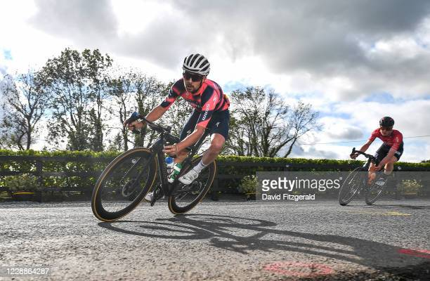 Limerick , Ireland - 3 October 2020; Ben Healy of Trinity Racing during the 2020 Cycling Ireland Senior Men Road Race Championships in Knockaderry,...
