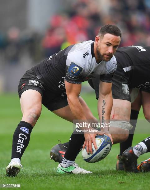Limerick Ireland 31 March 2018 Alby Mathewson of RC Toulon during the European Rugby Champions Cup quarterfinal match between Munster and Toulon at...