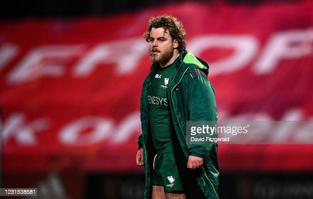 Limerick , Ireland - 5 March 2021; Finlay Bealham of Connacht following the Guinness PRO14 match between Munster and Connacht at Thomond Park in...