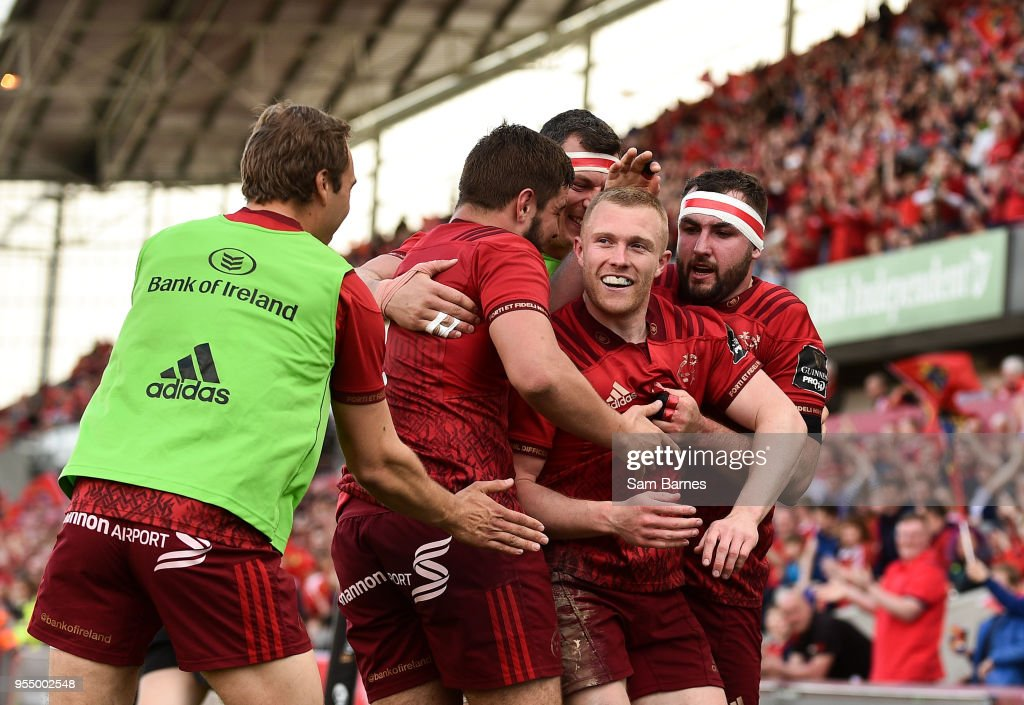 Munster v Edinburgh - Guinness PRO14 Semi-Final Play-Off : News Photo