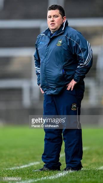 Limerick , Ireland - 7 November 2020; Tipperary manager David Power during the Munster GAA Football Senior Championship Semi-Final match between...