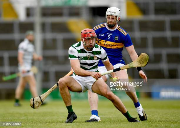 Limerick , Ireland - 8 May 2021; Barry Nash of Limerick in action against Michael Breen of Tipperary during the Allianz Hurling League Division 1...