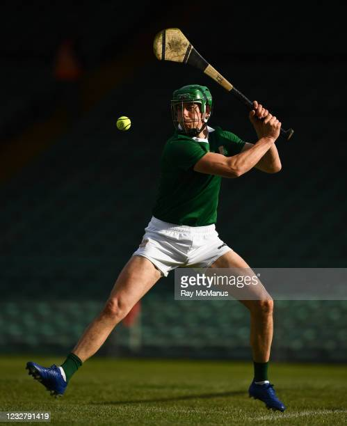 Limerick , Ireland - 8 May 2021; Limerick goalkeeper Nickie Quaid during the Allianz Hurling League Division 1 Group A Round 1 match between Limerick...