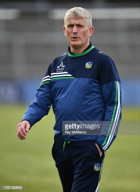 Limerick , Ireland - 8 May 2021; Limerick manager John Kiely the Allianz Hurling League Division 1 Group A Round 1 match between Limerick and...