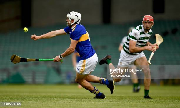 Limerick , Ireland - 8 May 2021; Patrick Maher of Tipperary in action against Barry Nash of Limerick during the Allianz Hurling League Division 1...