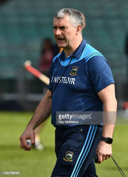 Limerick , Ireland - 8 May 2021; Tipperary manager Liam Sheedy before the Allianz Hurling League Division 1 Group A Round 1 match between Limerick...