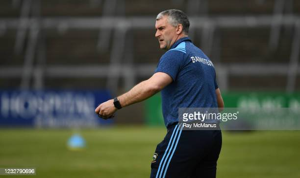 Limerick , Ireland - 8 May 2021; Tipperary manager Liam Sheedy during the Allianz Hurling League Division 1 Group A Round 1 match between Limerick...
