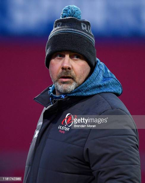 Limerick Ireland 9 November 2019 Ulster head coach Dan McFarland prior to the Guinness PRO14 Round 6 match between Munster and Ulster at Thomond Park...