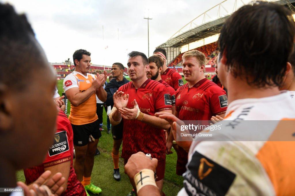 Munster v Cheetahs - Guinness PRO14 Round 2