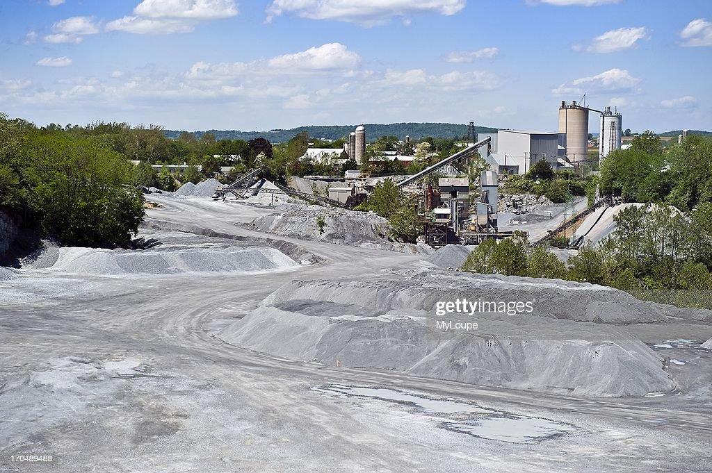 Limestone quarry, Lancaster, PA, Pennsylvania, United States