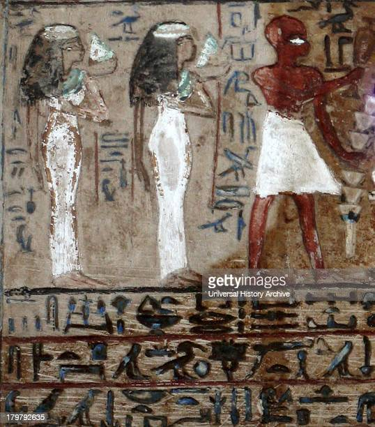 Limestone Stele of Penbuwy 19th Dynasty From Deir elMedina Thebes Stele made to honour the God Ptah