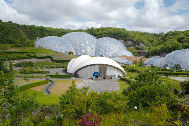 GBR: The Eden Project Reopens After Weeks In Lockdown