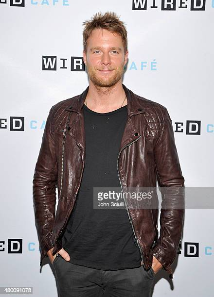 Limitless actor Jake McDorman attends WIRED Cafe at Comic Con 2015 in San Diego at Omni Hotel on July 9 2015 in San Diego California