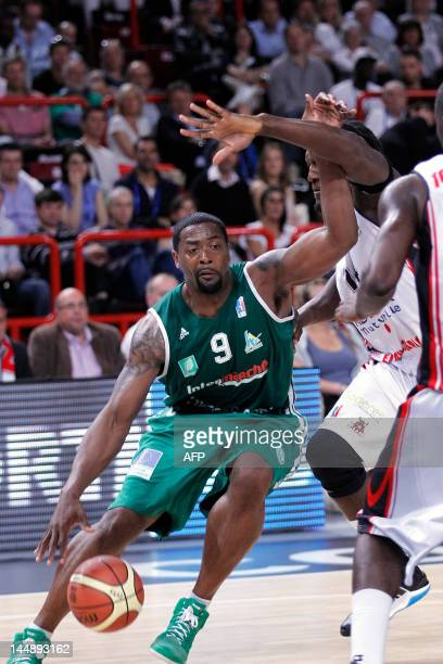 Limoges' Chris Massie is pictured during the men's finale match Chalon vs Limoges as part of France's basketball cup on May 20 2012 at the POPB AFP...