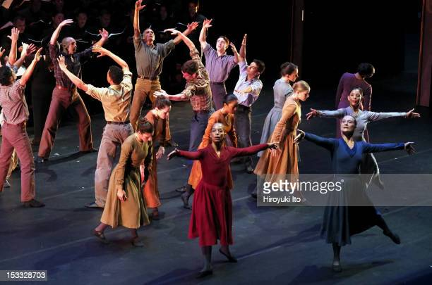 """Limon Dance Company and Simon Bolivar National Youth Choir of Venezuela performing """"Missa Brevis"""" at Alice Tully Hall on Monday night, September 17,..."""