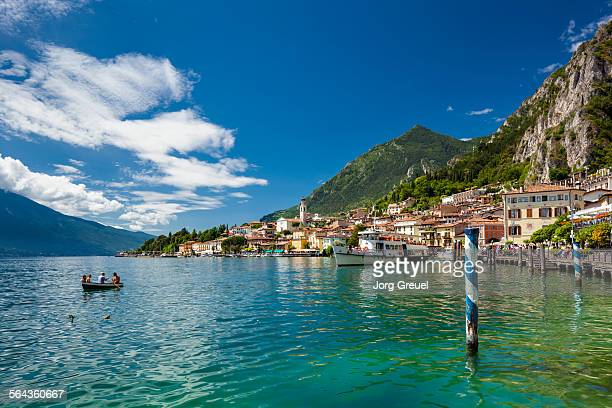 limone - lake garda stock pictures, royalty-free photos & images